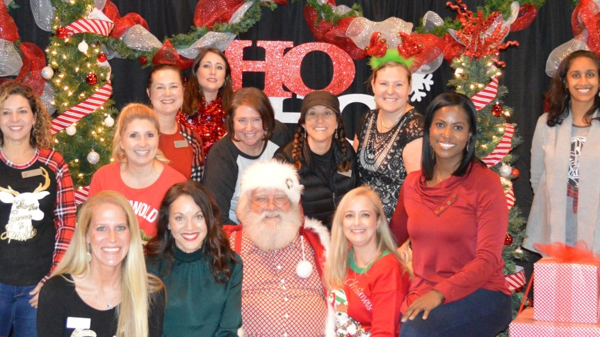 PTO Board with Santa Widescreen