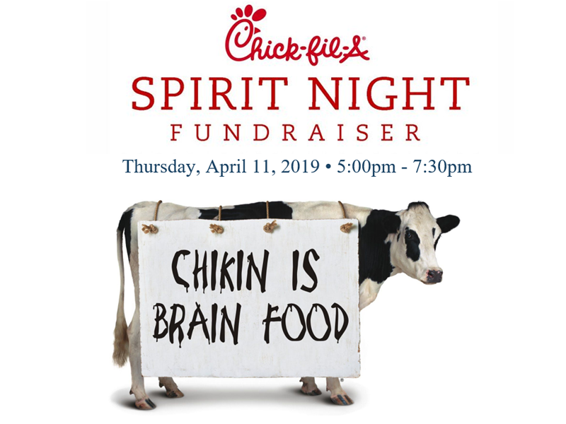Chick-fil-A Spirit Night April11