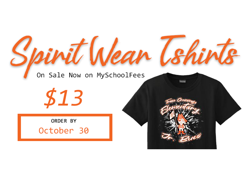 Spirit Wear on Sale Now