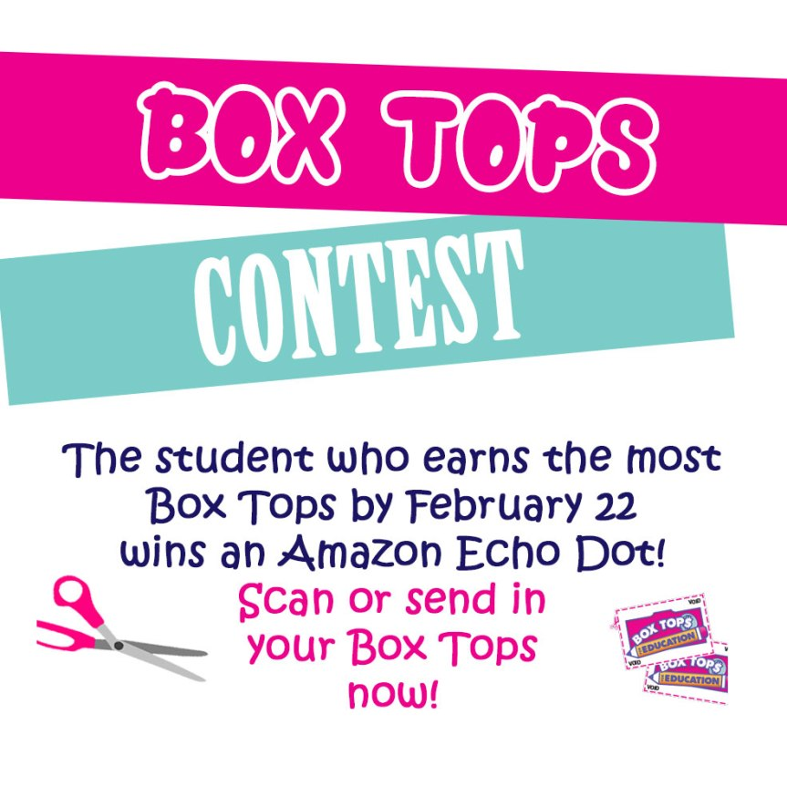 Win an Echo Dot for your BoxTops!