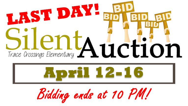 Silent Auction EndsTonight