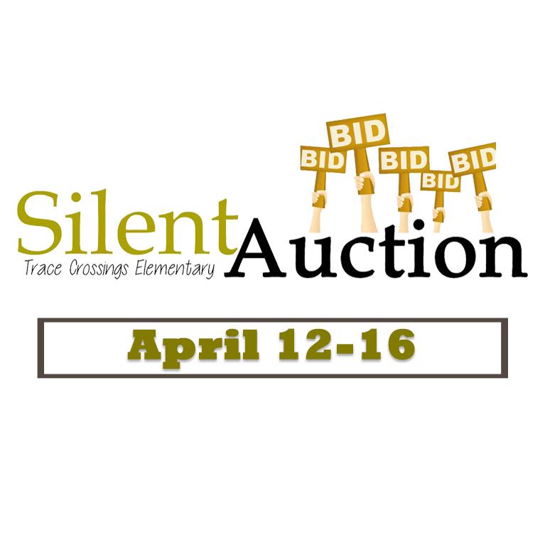 Silent Auction Begins Monday, April12