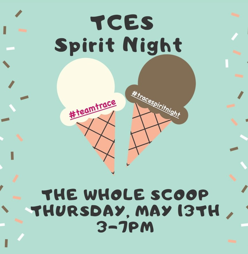 The Whole Scoop Spirit Night – May13